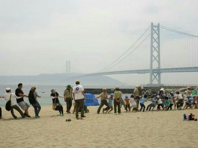 垂水区舞子のボーイスカウト神戸第2団 ビーバー運動会
