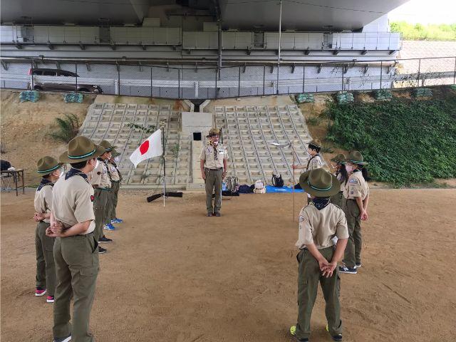 垂水区舞子のボーイスカウト神戸第2団 ボーイスカウト リーダー