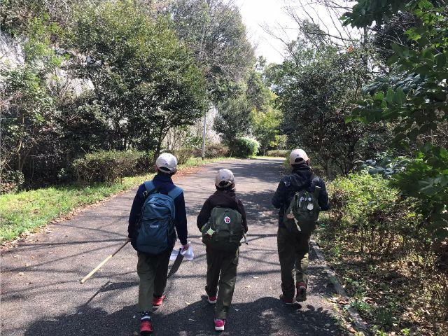 垂水区舞子のボーイスカウト神戸第2団 ボーイ隊 ハイキング